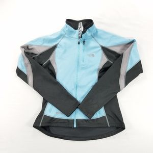 The North Face Wind Stopper Zip Up Sweater Jacket